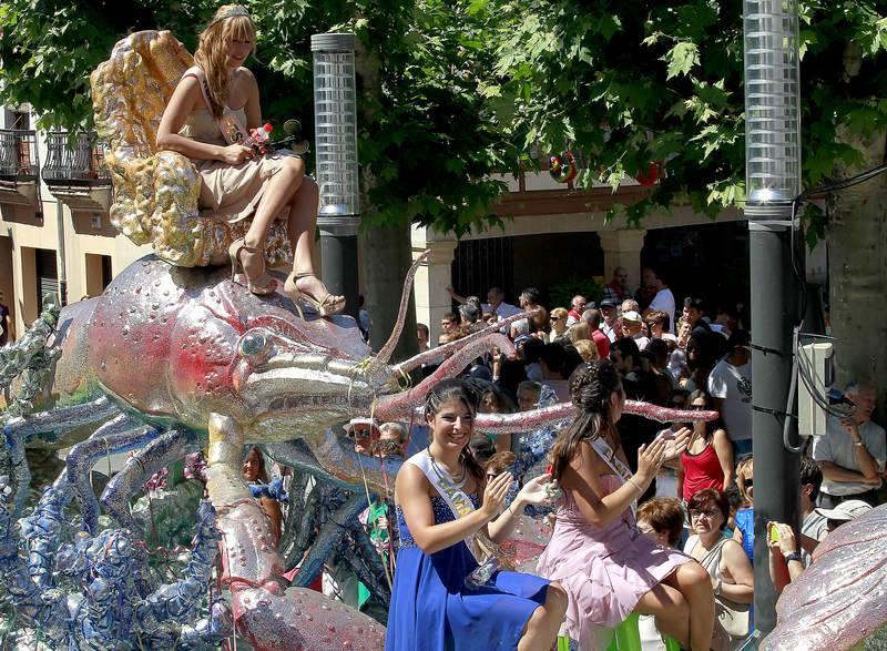 Fiesta del exaltación del Cangrejo de Río en Herrera de Pisuerga