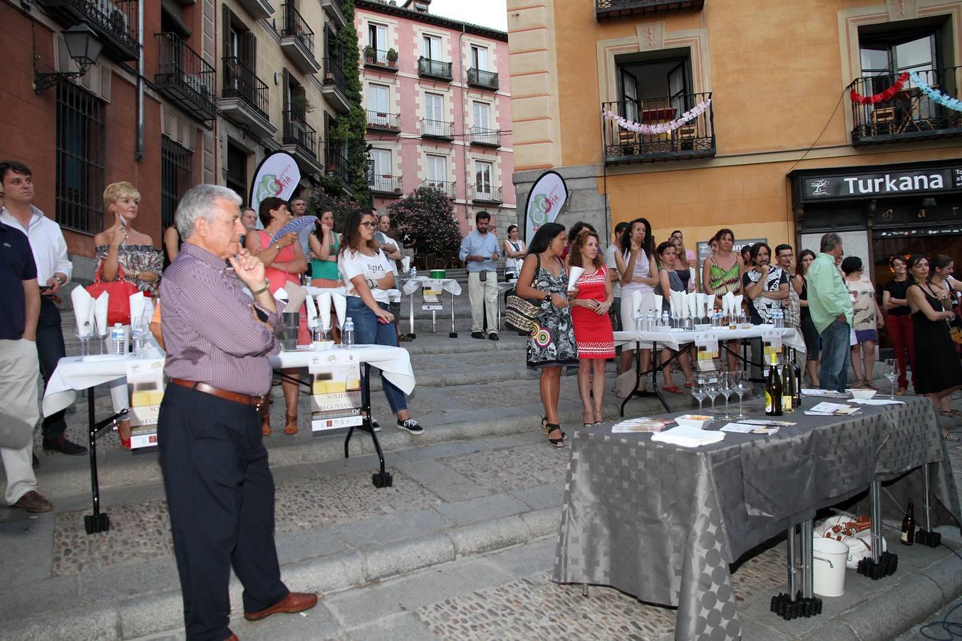Cata solidaria en Segovia