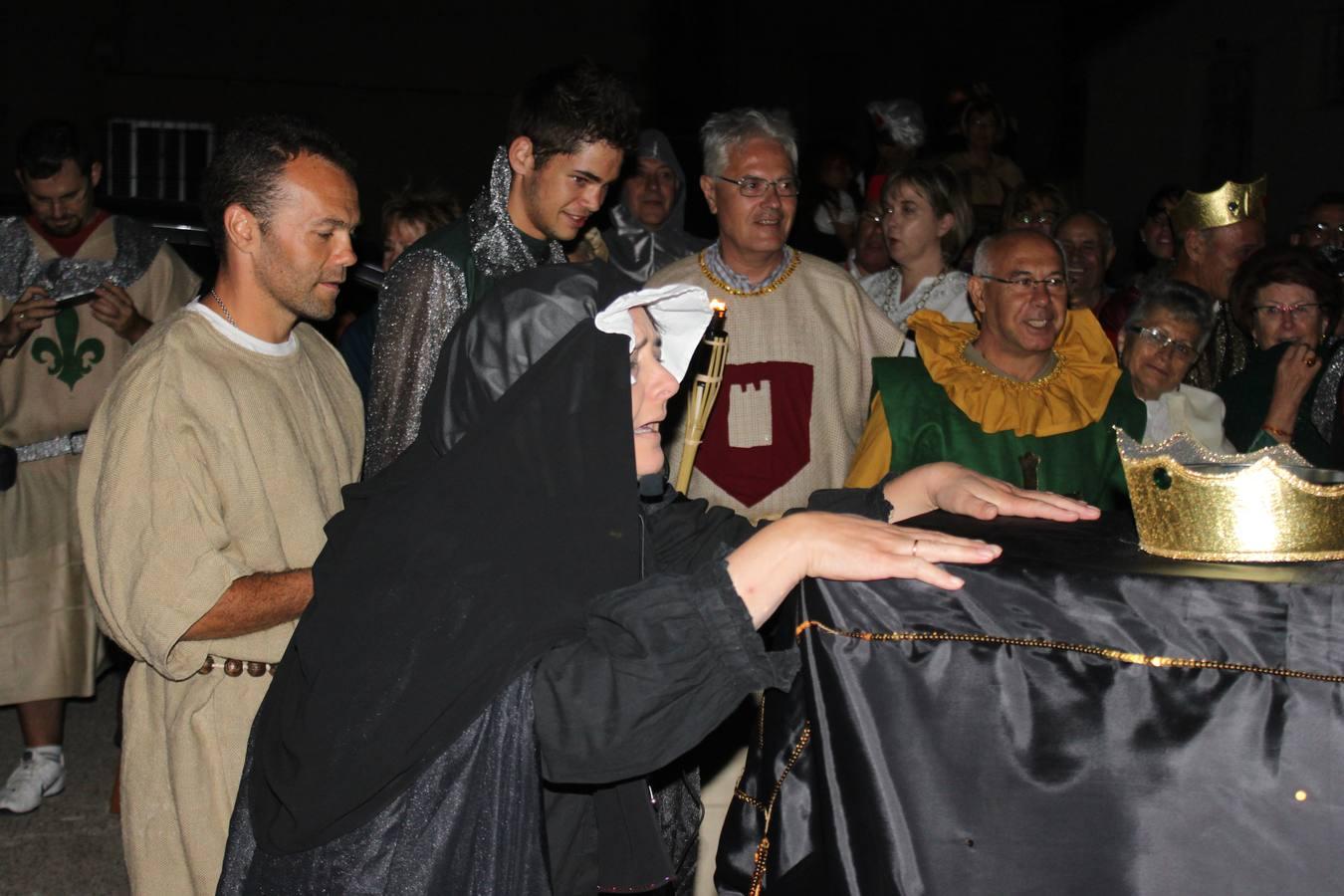 Cortejo fúnebre con los restos de Felipe I ?El Hermoso? en Hornillos de Cerrato