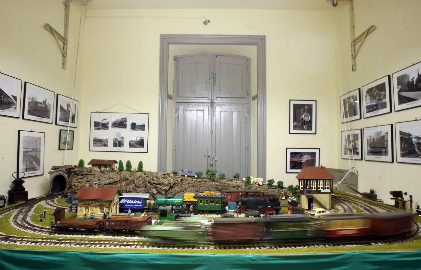 Exposición de la Asociación de Amigos del Ferrocarril en Valladolid