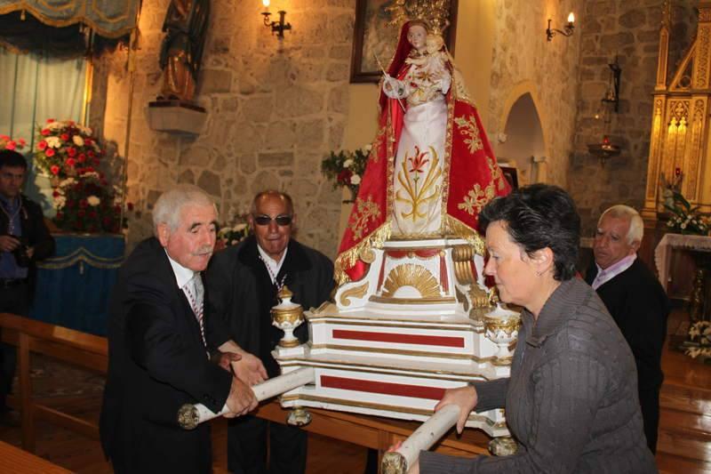 Fiesta grande en honor a Nuestra Señora de Garón en Antigüedad
