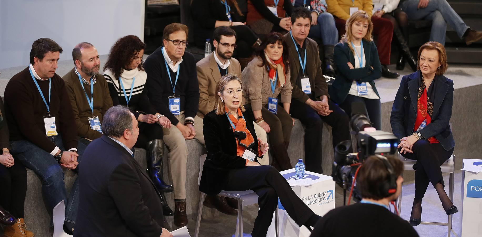 Jornada del sábado en la convención nacional del PP en Valladolid (1/5)