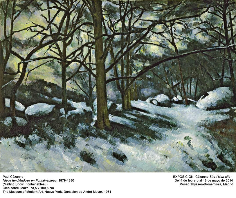 La naturaleza muerta de Cézanne