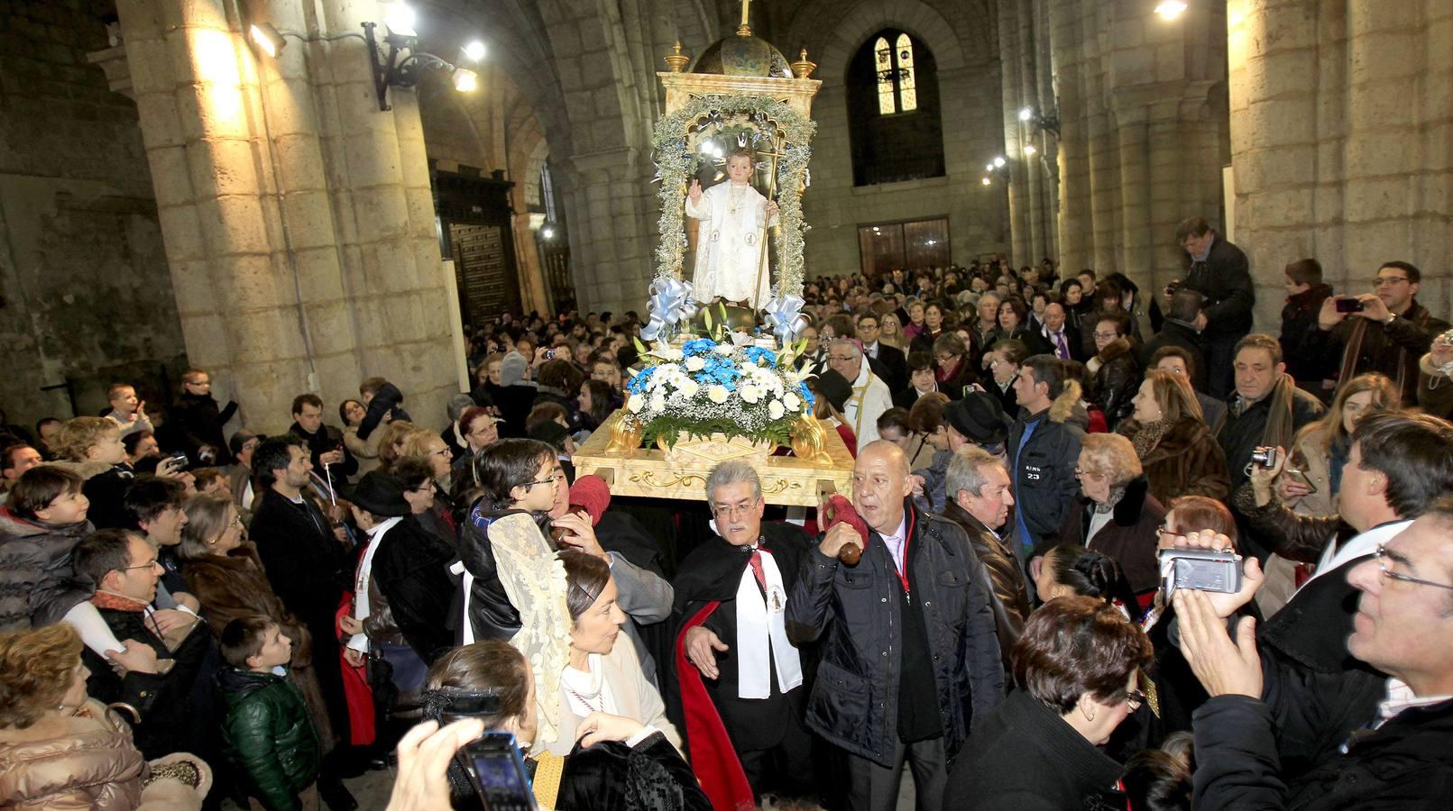 Las fotografías de portada de enero en El Norte de Castilla. (Palencia)