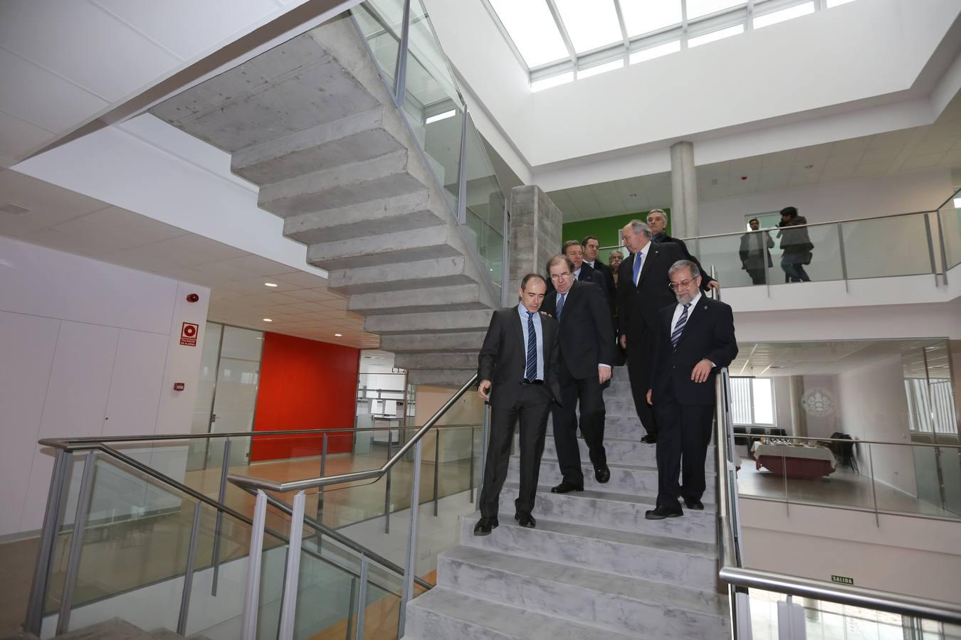 Inauguración del Edificio LUCIA de la Universidad de Valladolid