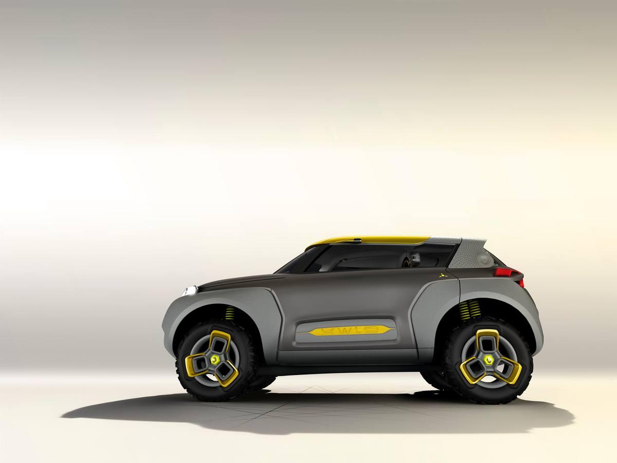 Imágenes del nuevo prototipo KWID de Renault