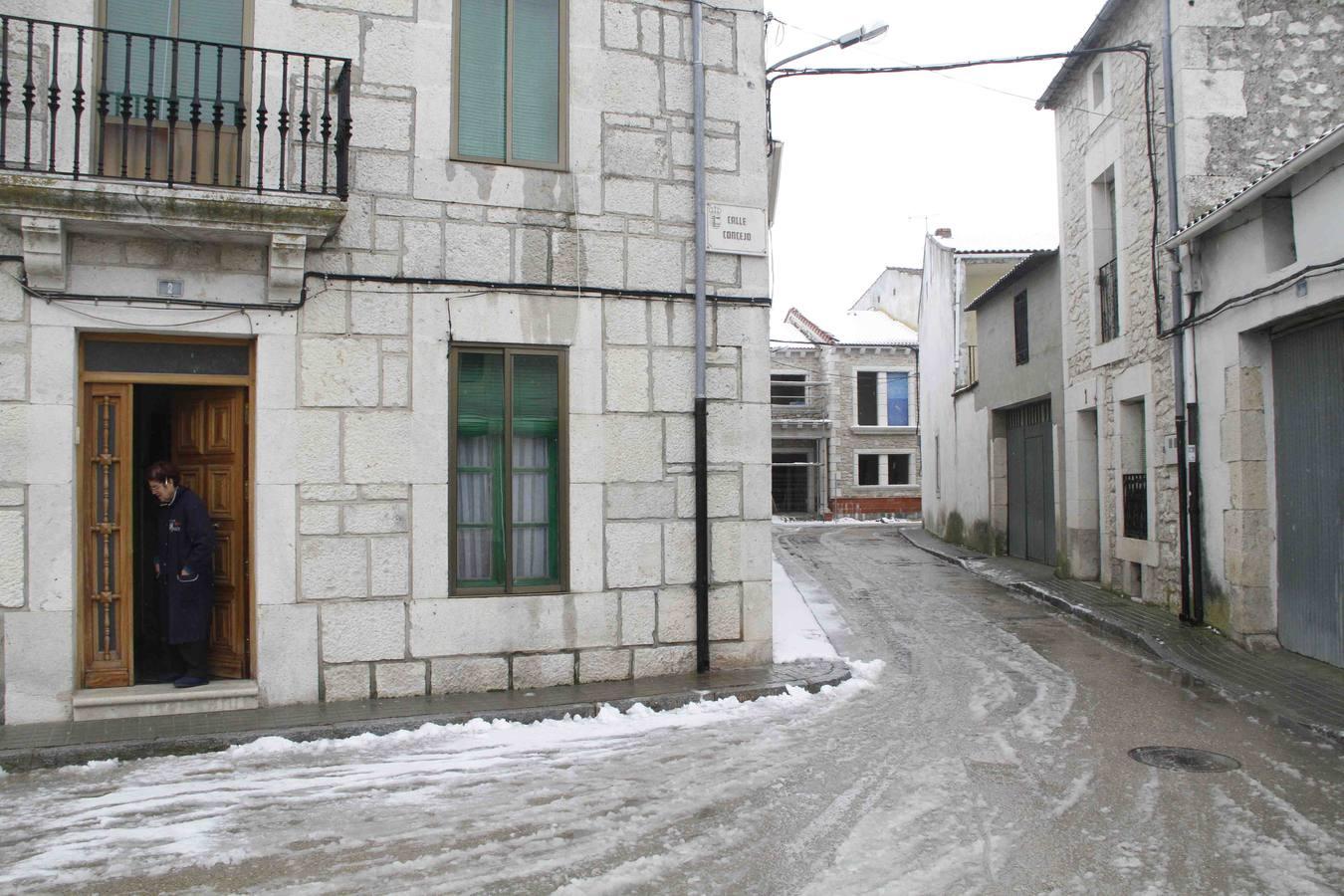 Nieve en Campaspero. Valladolid