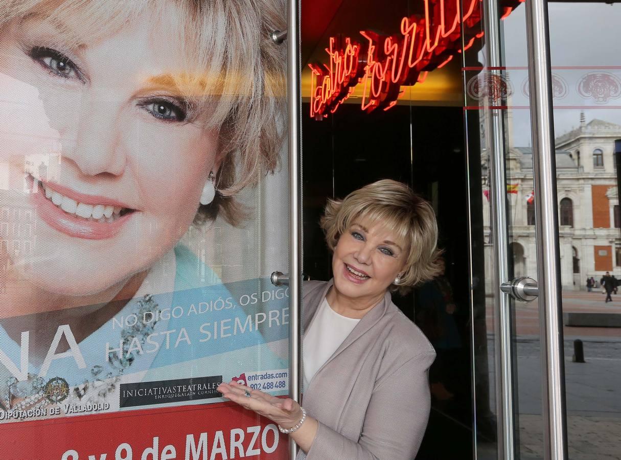 Karina, en el Teatro Zorrilla de Valladolid