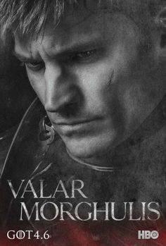 Posters promocionales de la cuarta temporada de Juego de Tronos. 'Valar Morghulis'