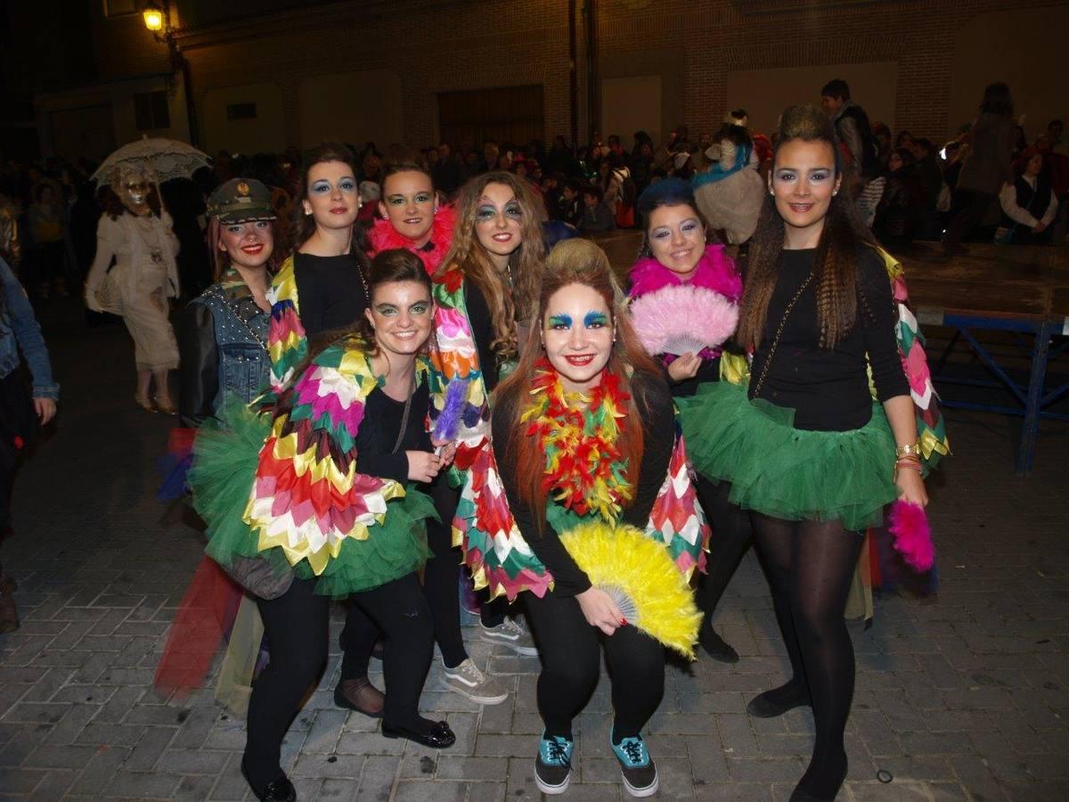 Fiesta de 'Piñata' en Pedrajas de San Esteban (8/8)