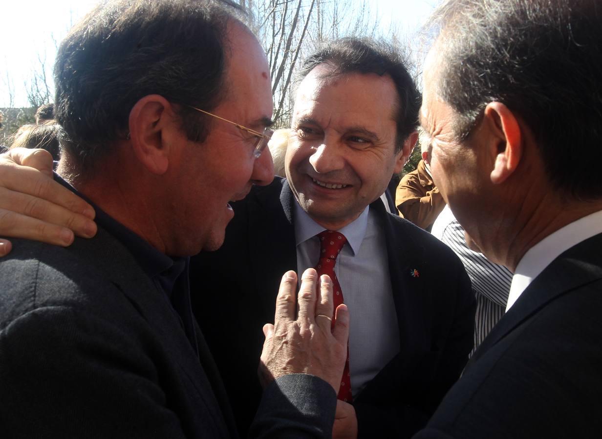 Último adiós al diputado provincial y alcalde de Los Huertos, Alfredo Monjas Pérez