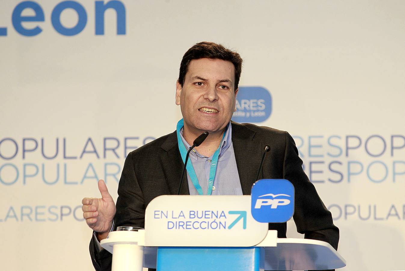 Convención autonómica del PP en Magaz de Pisuierga. Palencia (2/2)