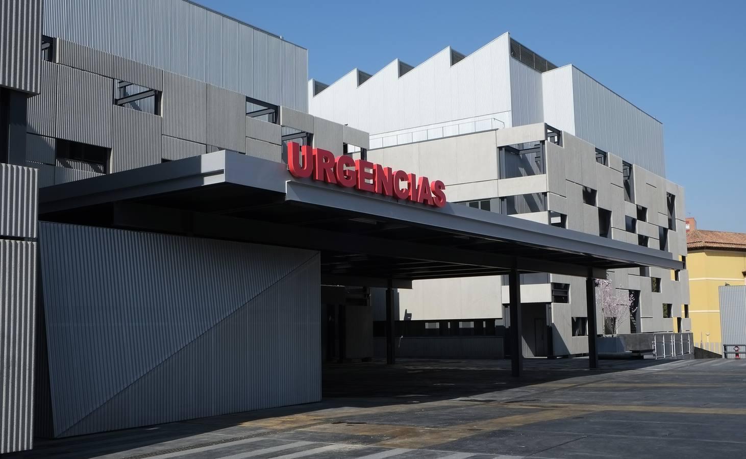 Obras de ampliación del Hospital Clínico de Valladolid