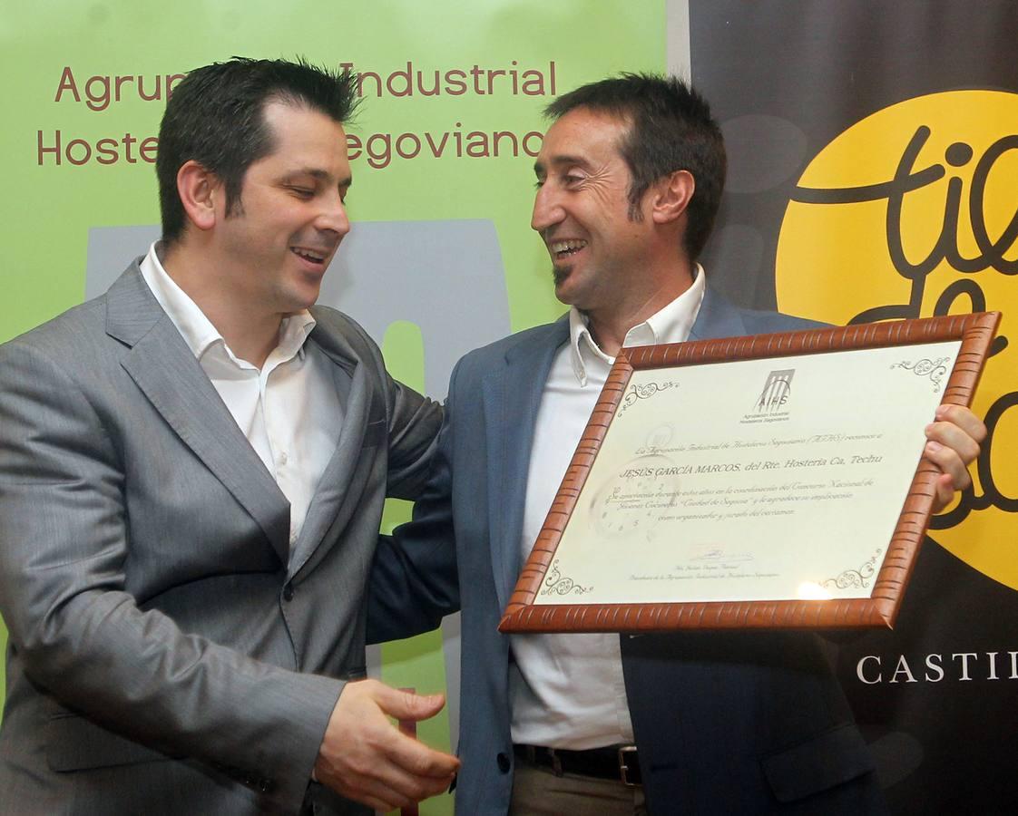 Cena de clausura de la XXII Semana de Cocina Segoviana