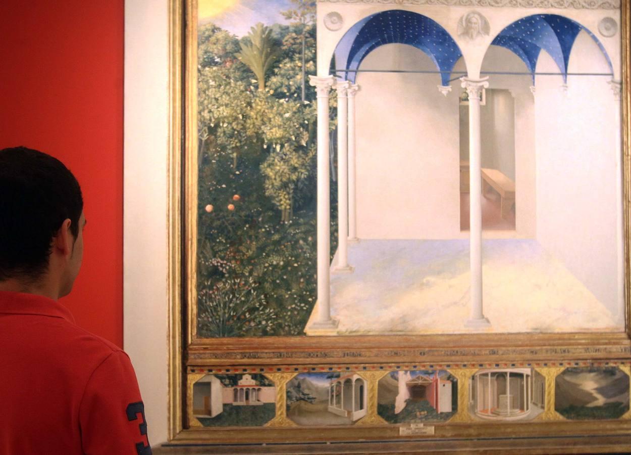 Exposición fotográfica 'Umbrales de silencio' de José Manuel Ballester en el Museo Esteban Vicente de Segovia