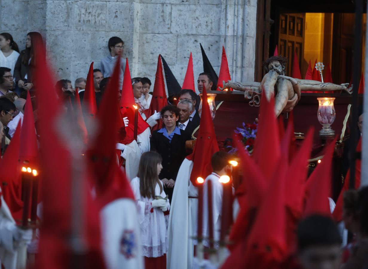Resultado de imagen de procesion del santísimo cristo de los trabajos valladolid