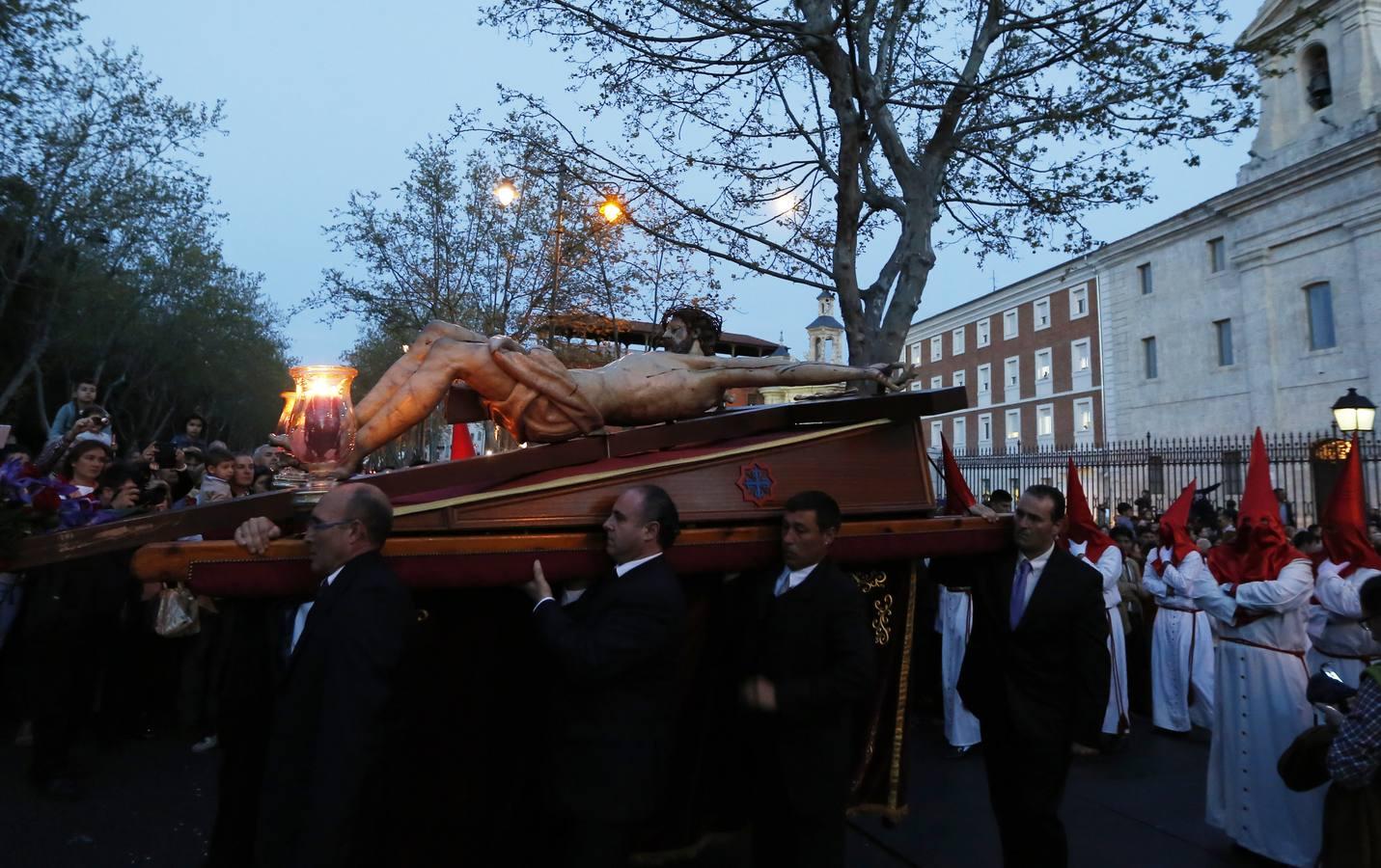 Procesión del Traslado del Santísimo Cristo de los Trabajos. Valladolid