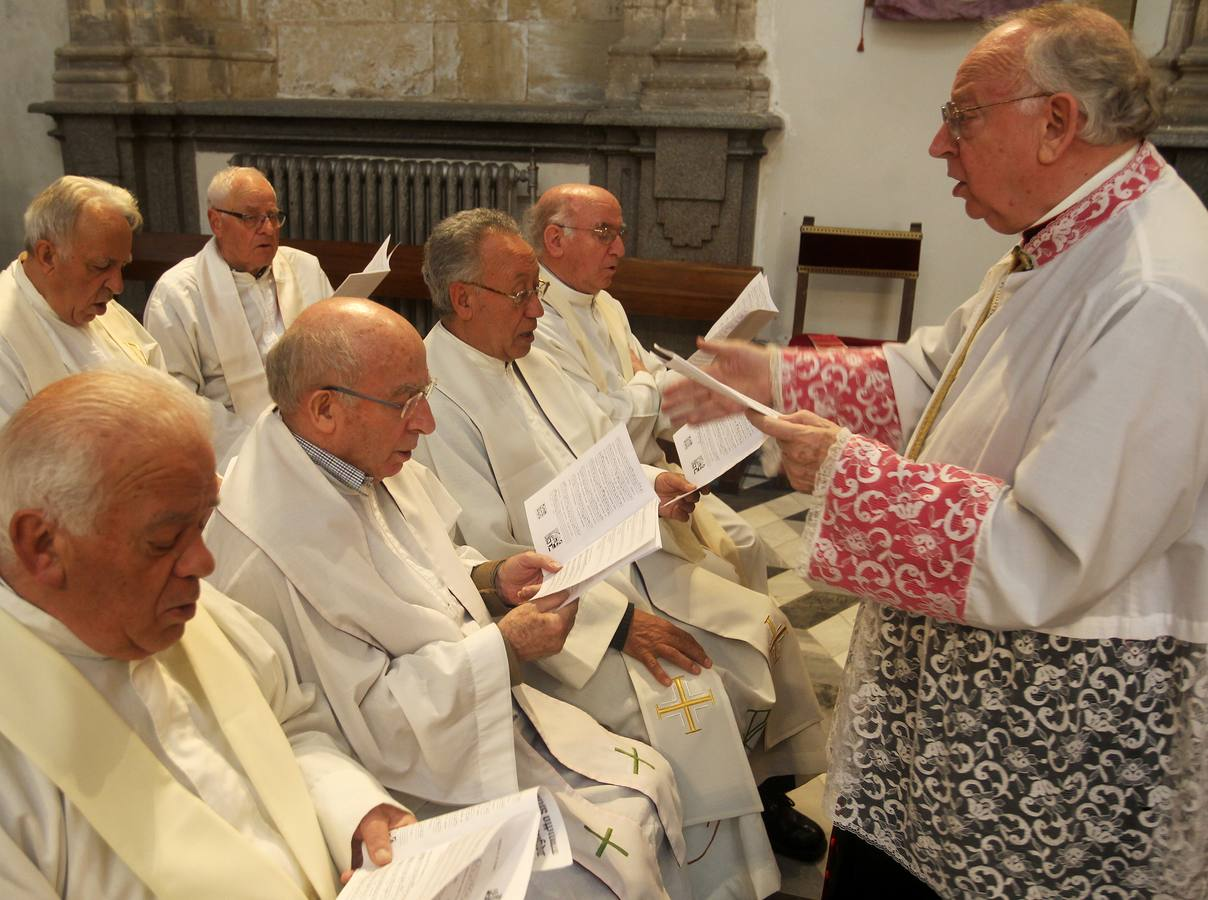 Misa Crismal en la Catedral de Segovia