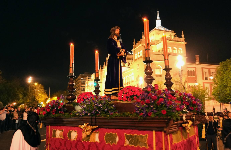 Procesión de Regla de la Cofradía del Discípulo Amado y Jesús de Medinaceli. Valladolid