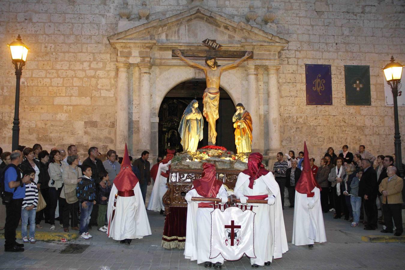Procesión del Cristo de la Buena Muerte en Peñafiel. Valladolid