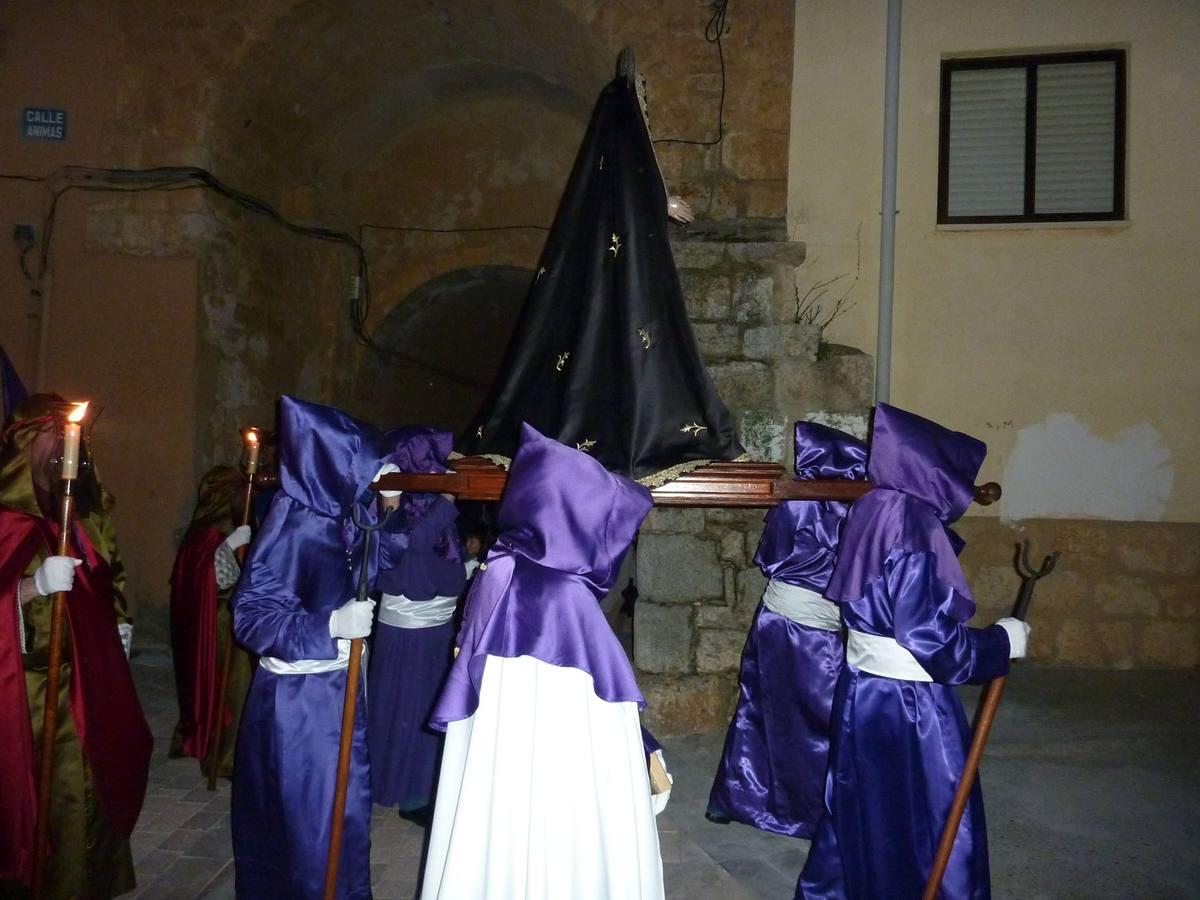 Procesión del Santísimo Rosario del Dolor en Torrelobatón. Valladolid
