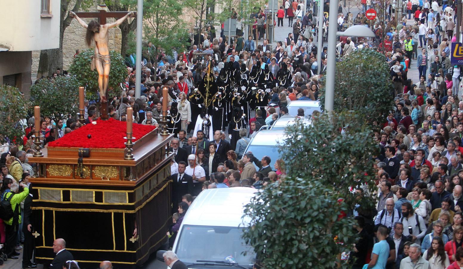 Procesión de los Cinco Misterios en Segovia