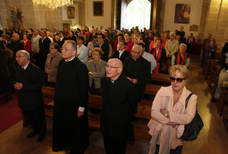 Misa de acción de gracias por la canonización de los Papas Juan XVIII y Juan Pablo II en Segovia