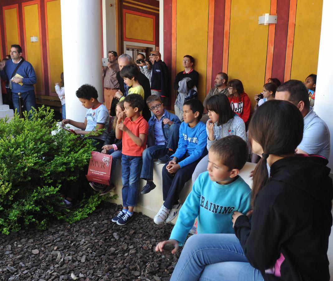 Día de puertas abiertas en la Villa Romana de Almenara-Puras