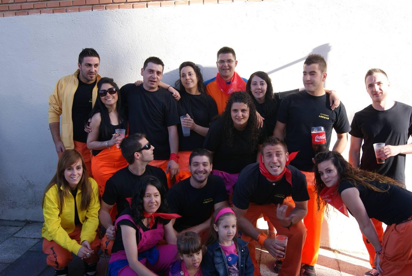 Pregón y desfile de peñas en las fiestas de Arroyo de la Encomienda. Valladolid