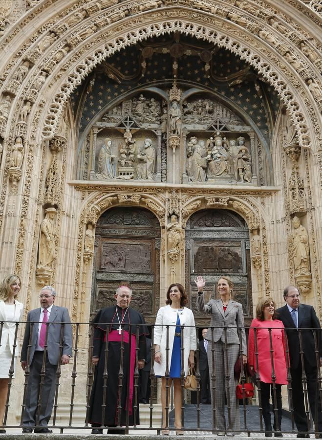 Inauguración de la exposición 'Eucharistia' de Las Edades del Hombre, en Aranda de Duero. Burgos (1/3)