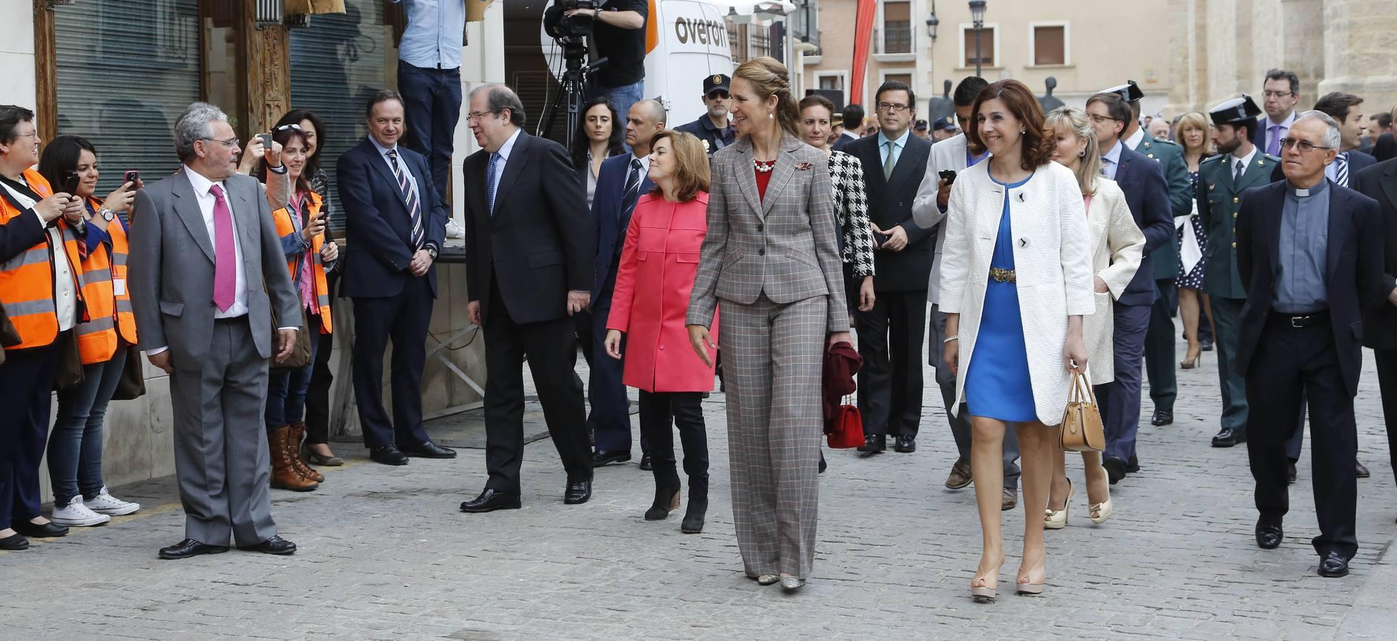 Inauguración de la exposición 'Eucharistia' de Las Edades del Hombre, en Aranda de Duero. Burgos (2/3)