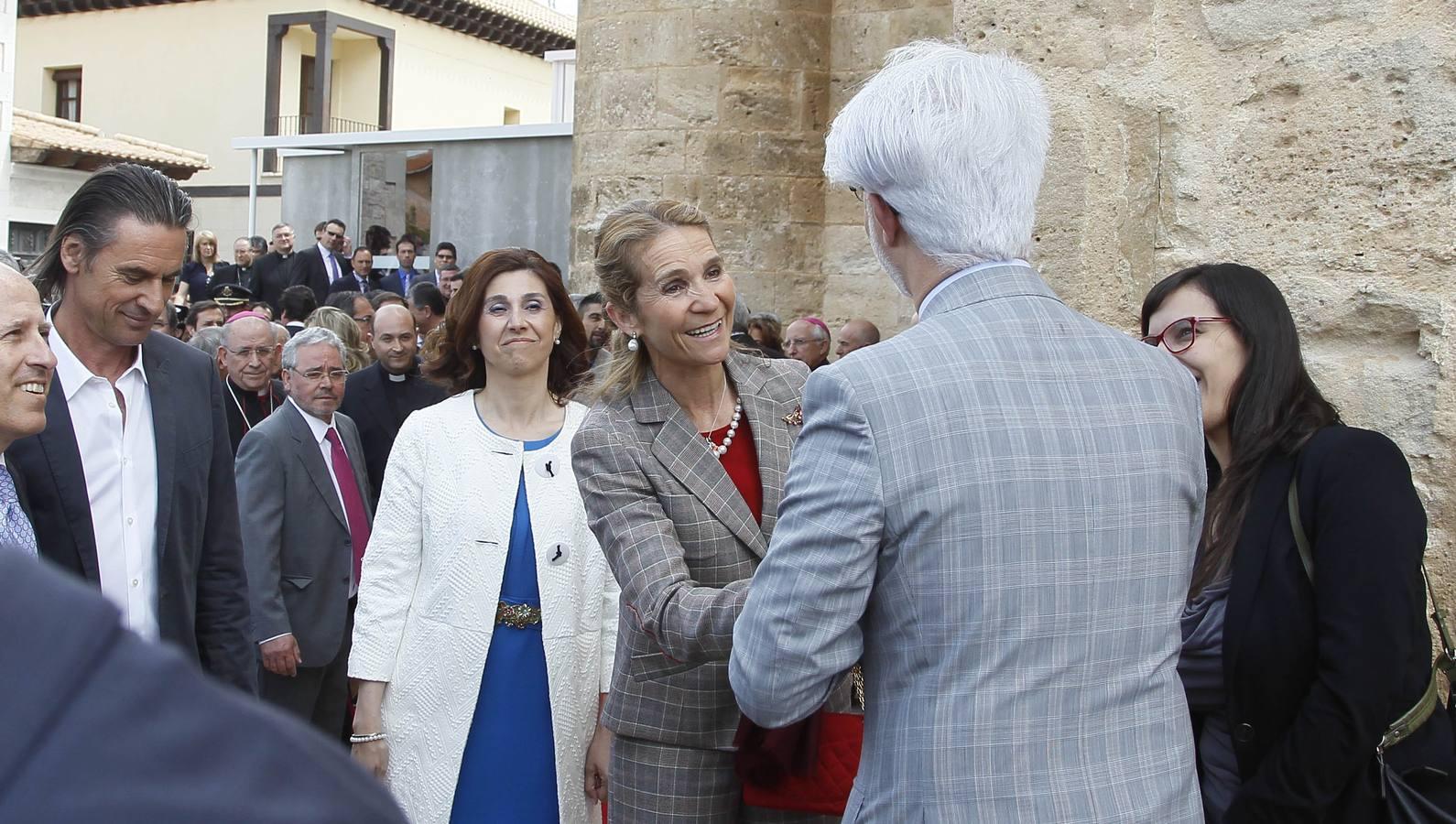 Inauguración de la exposición 'Eucharistia' de Las Edades del Hombre, en Aranda de Duero. Burgos (3/3)