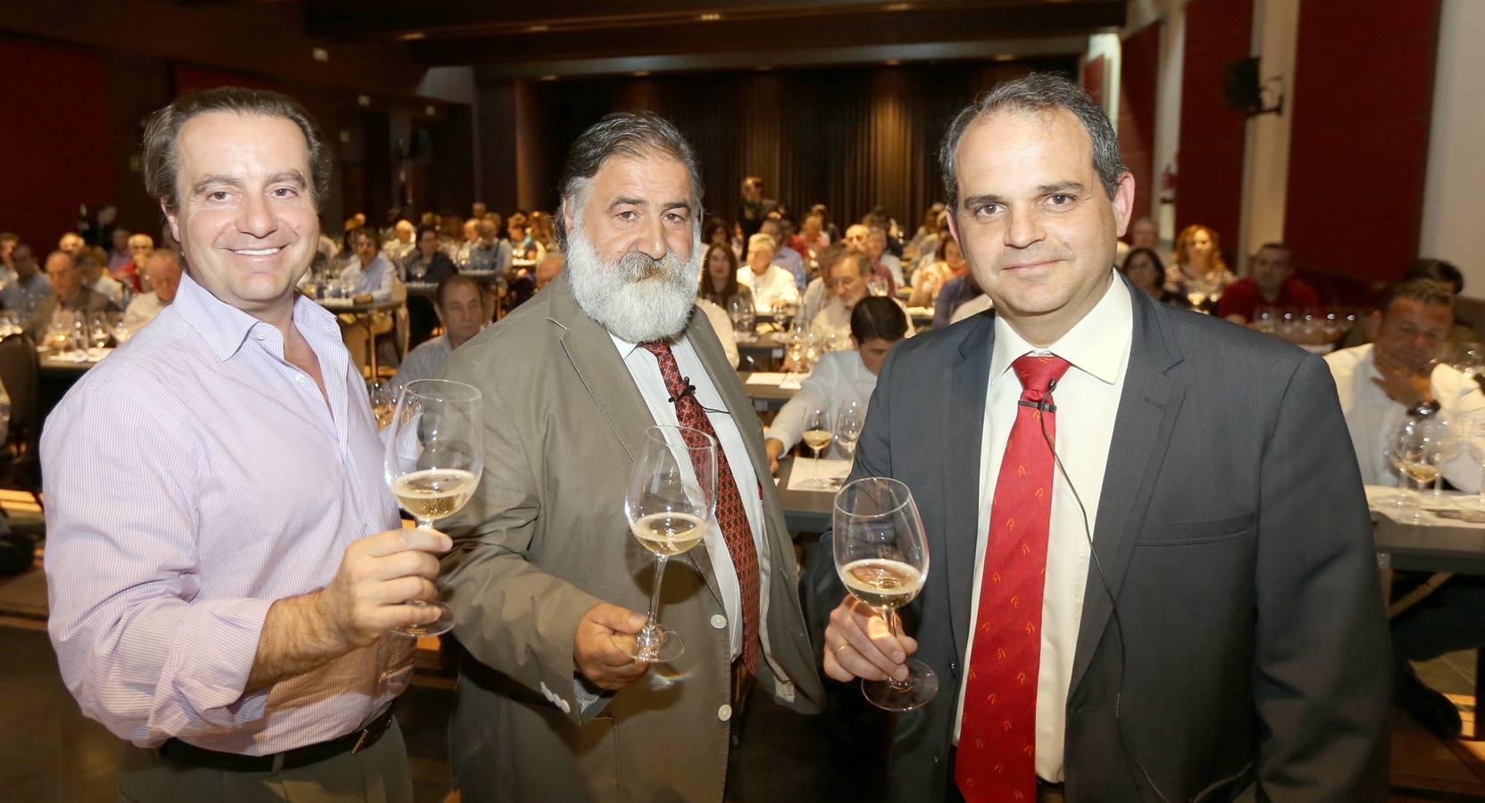 Cata de vinos del Grupo Freixenet con el Club de Catas de El Norte de Castilla