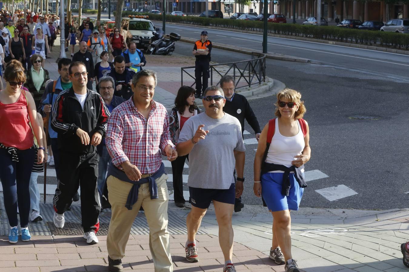 Marcha Asprona 2014 en Valladolid (2/15)