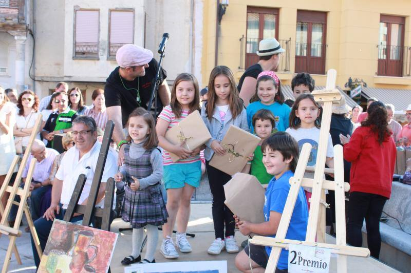 Concurso de pintura rápida en Baltanás