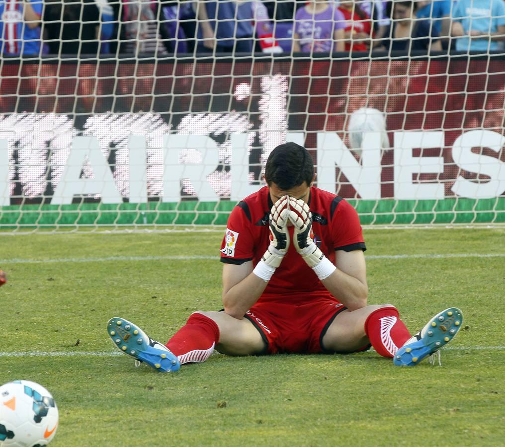 El Real Valladolid desciende a segunda