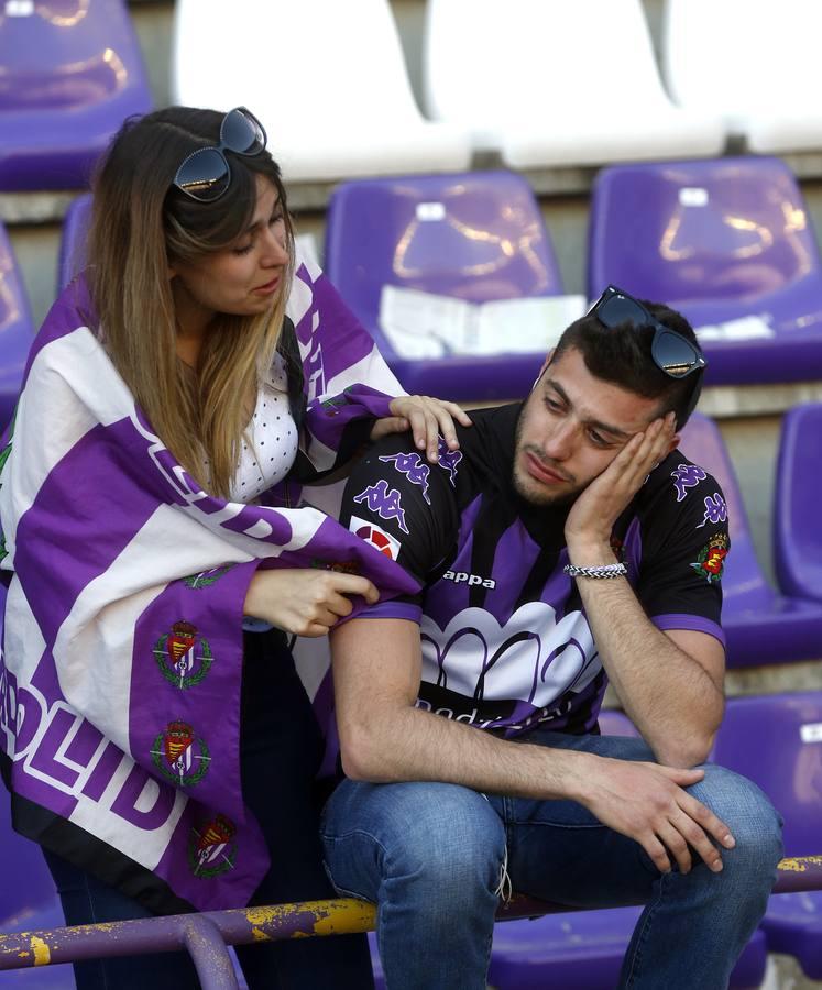 Segunda galería del descenso del Real Valladolid a Segunda División