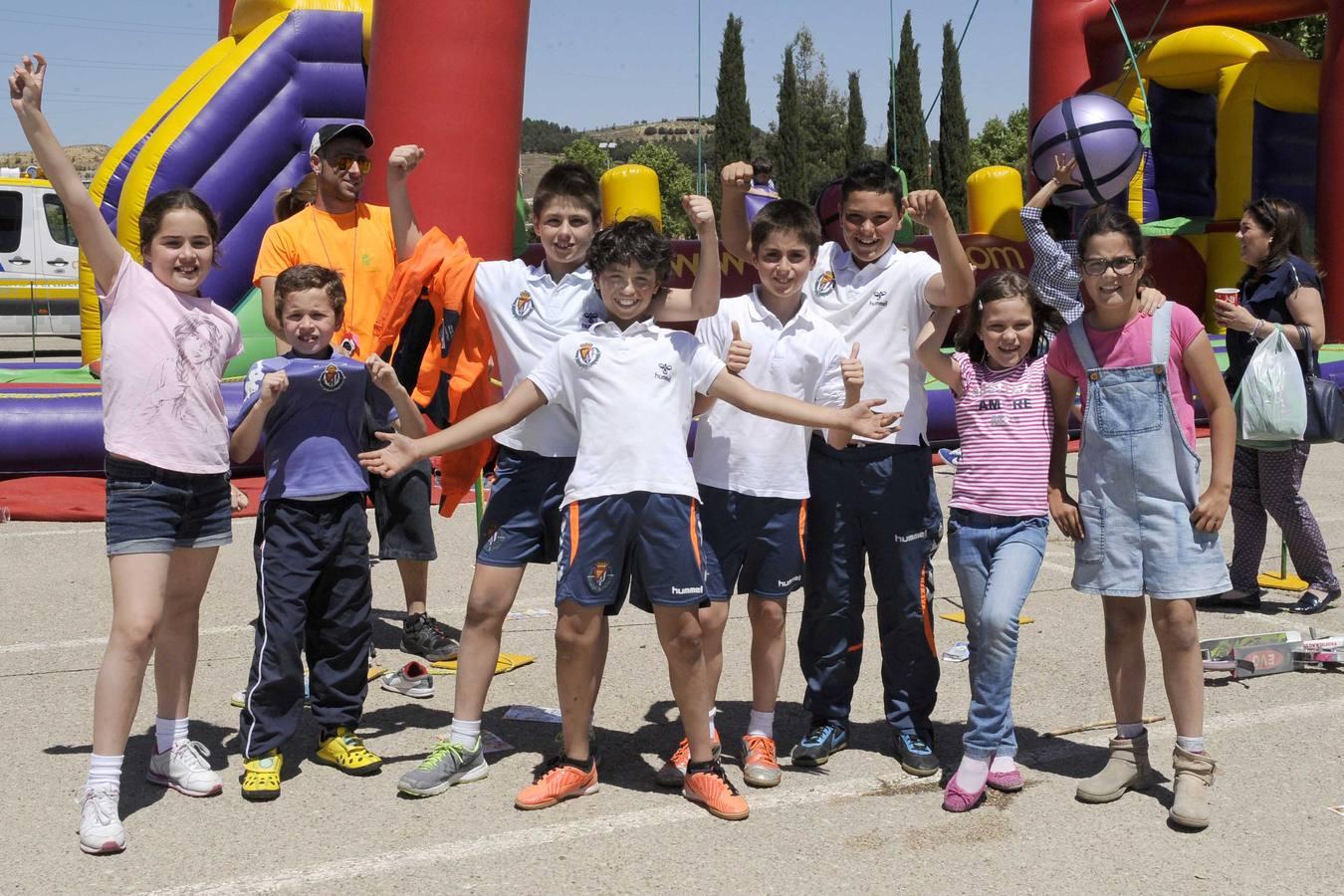Fiesta previa al Real Valladolid-Granada en los aledaños del estadio