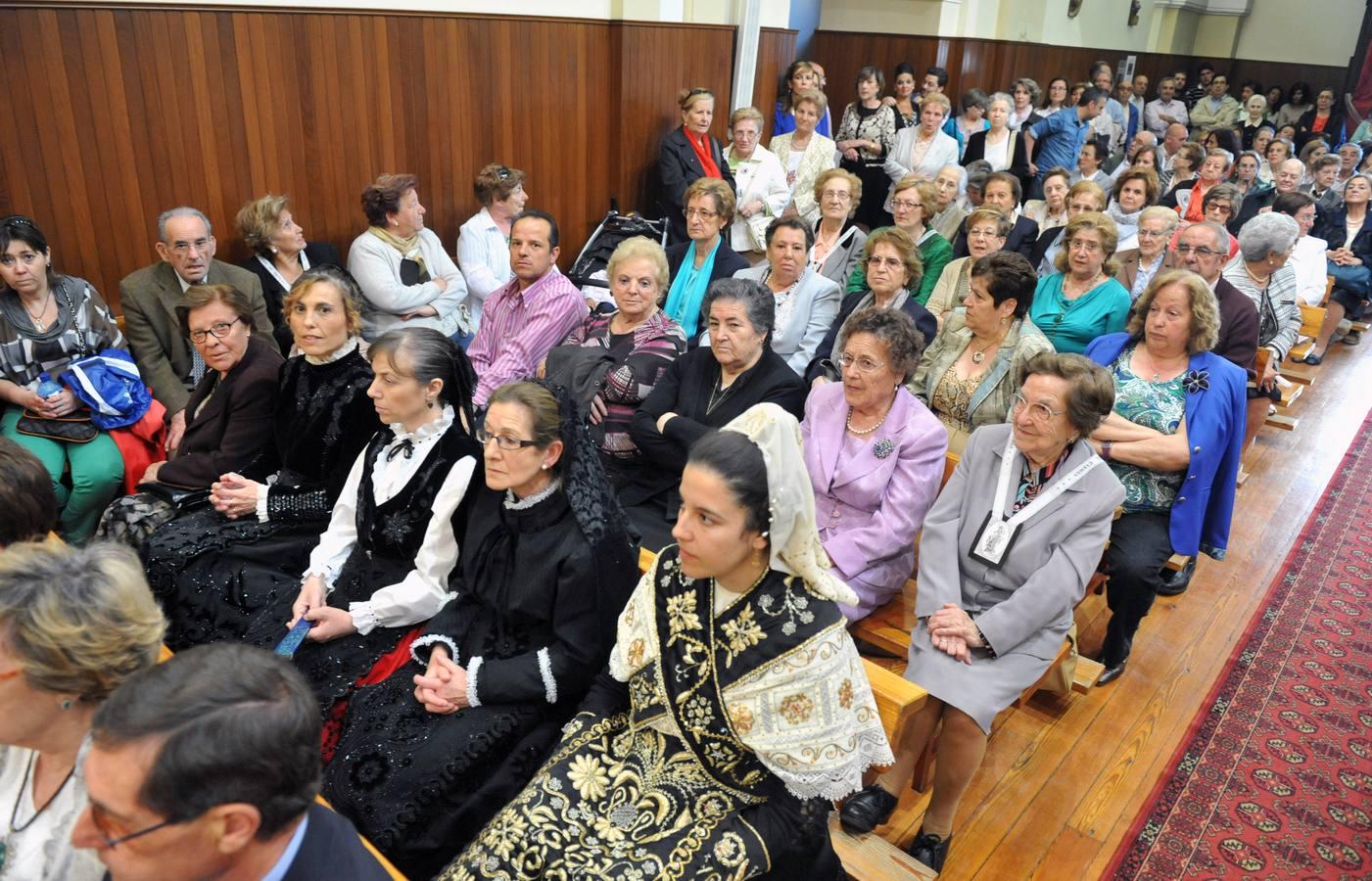 Blázquez bendice la iglesia de los Padres Carmelitas de Medina del Campo como santuario