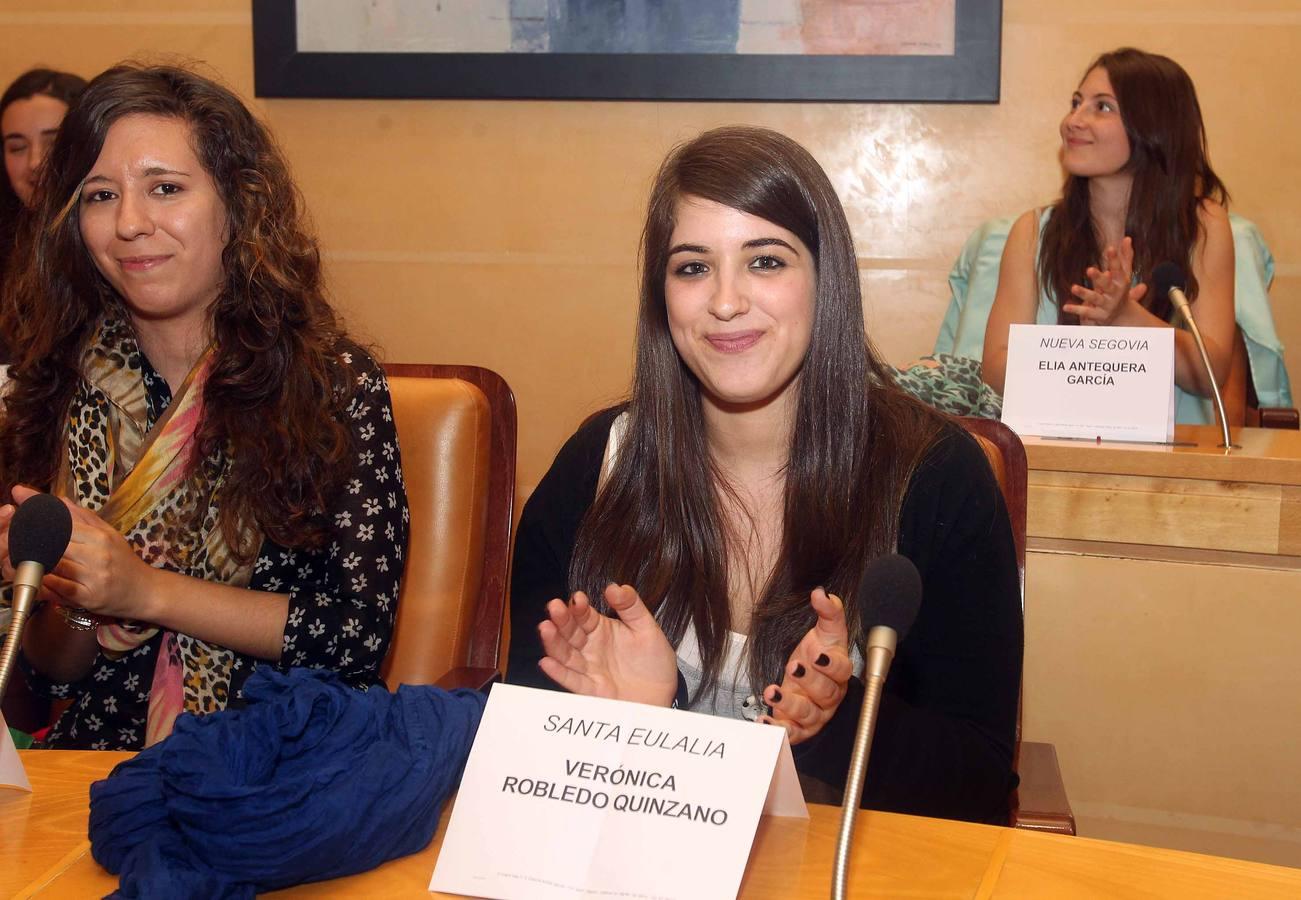 Elección de la alcaldesa de las fiestas de Segovia