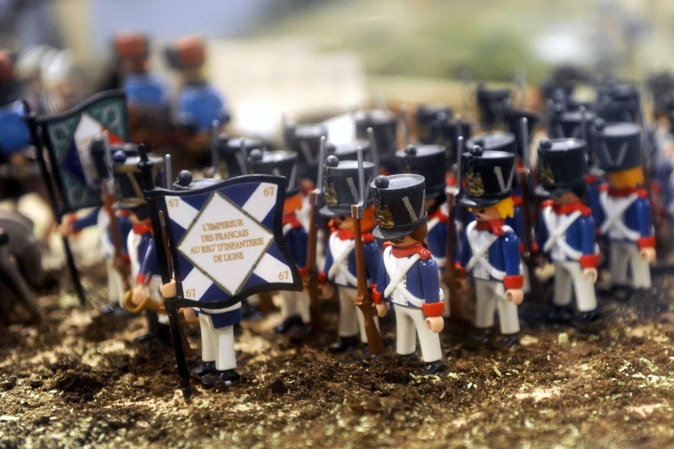 Exposición 'Playmobil, Lealtad y Valor. La historia del Ejército contada a través de los clicks' en el Palacio Real de Valladolid