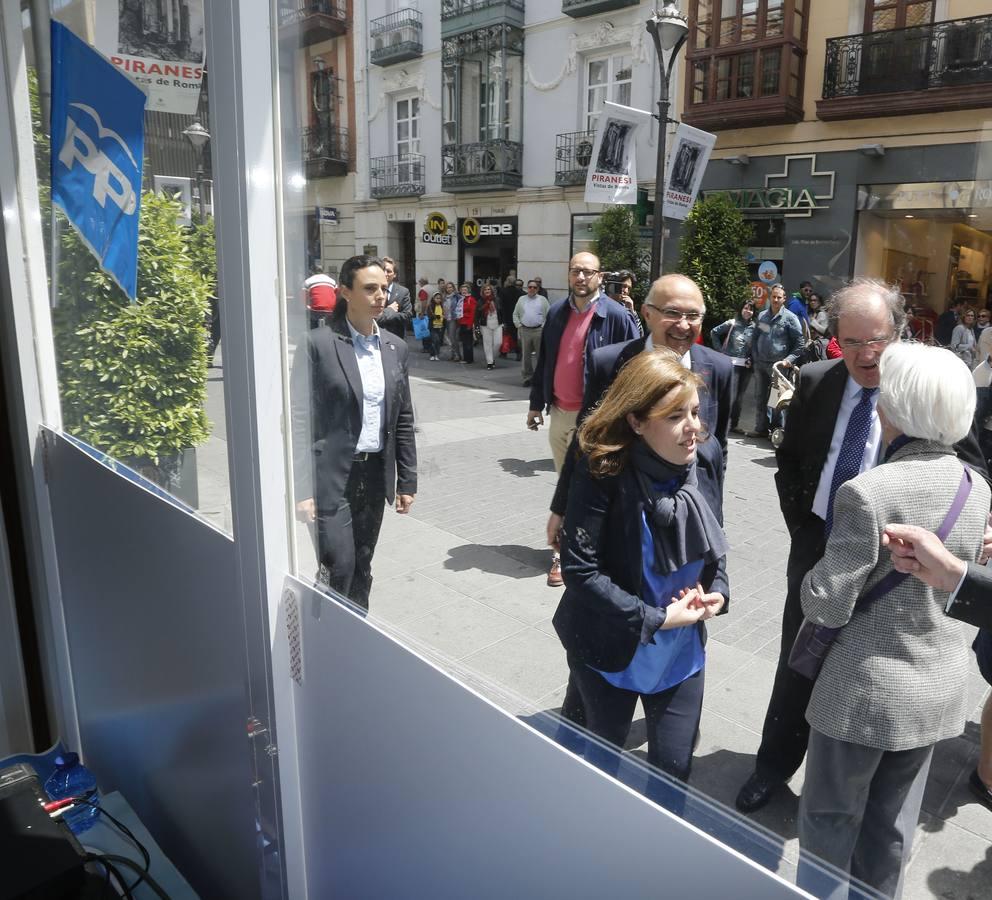 Acto electoral de Soraya Sáenz de Santamaría en Valladolid